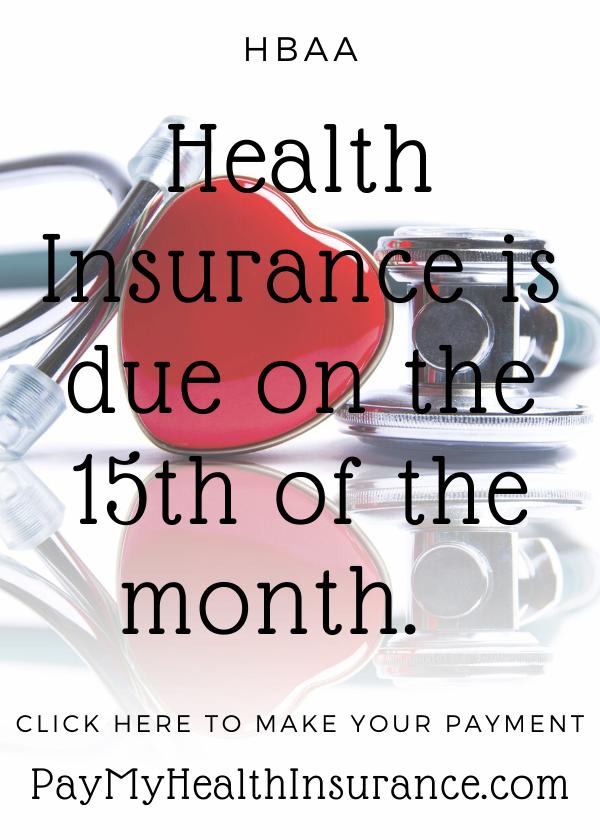 HBAA Health Insurance payment portal