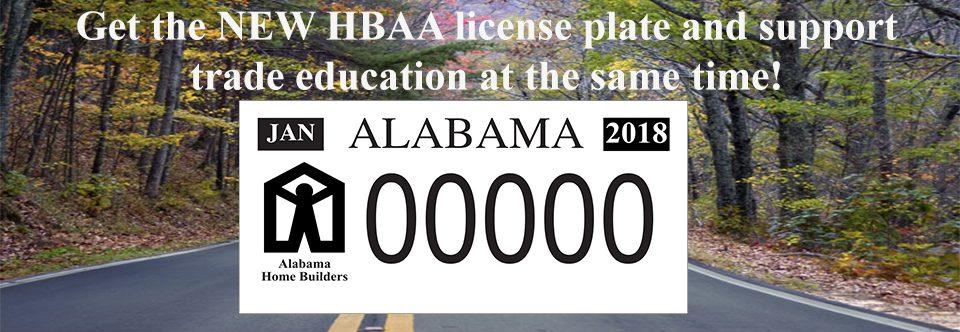HBAA License Plate